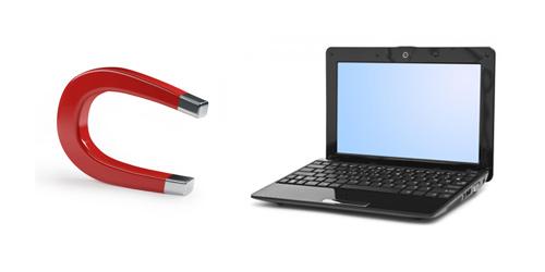 magnet laptop