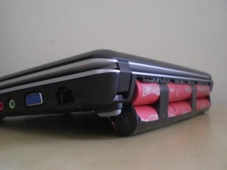 baterie laptop artizanala lipita