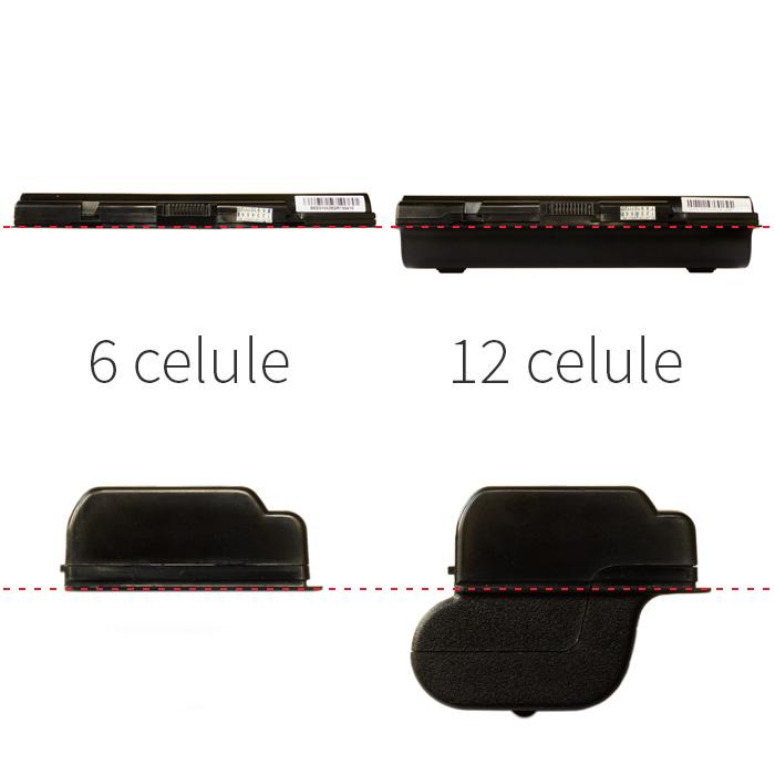 baterie 6 celule comparat 12 celule exterior