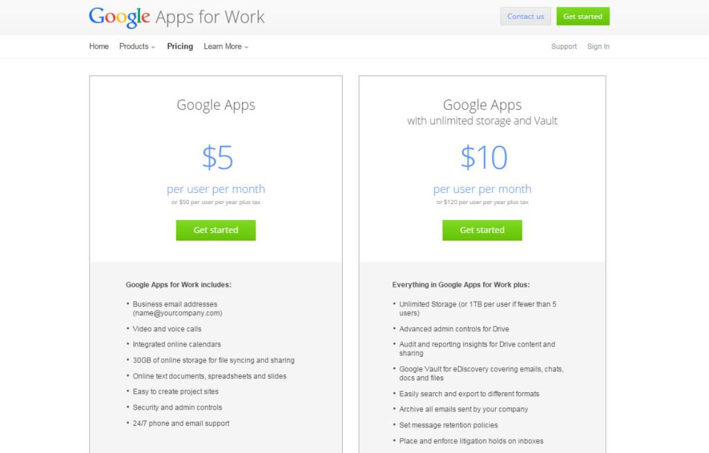google drive cloud spatiu salvare poze si fisiere price 2015